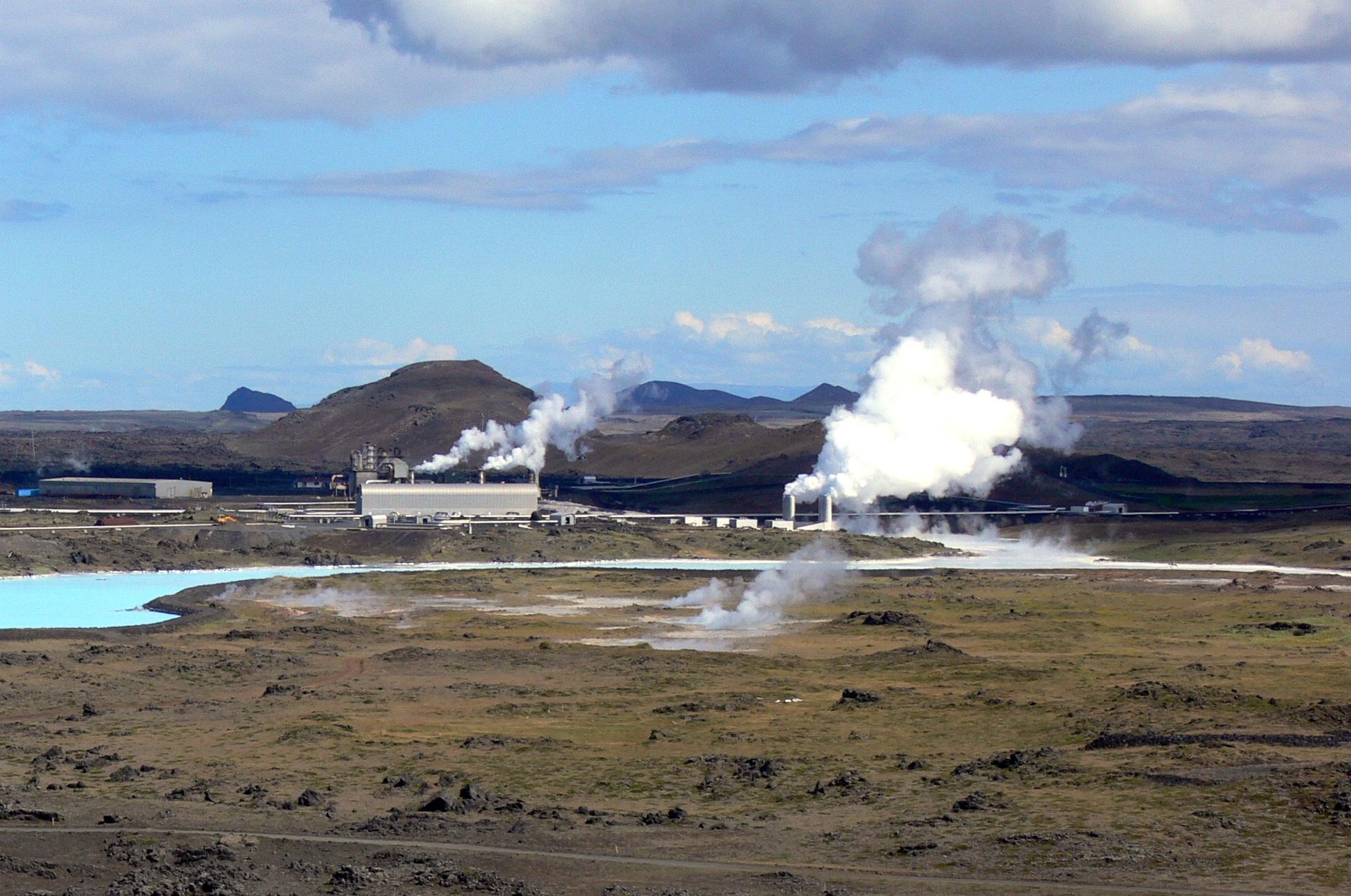 Central geotermoeléctrica de Reykjanes